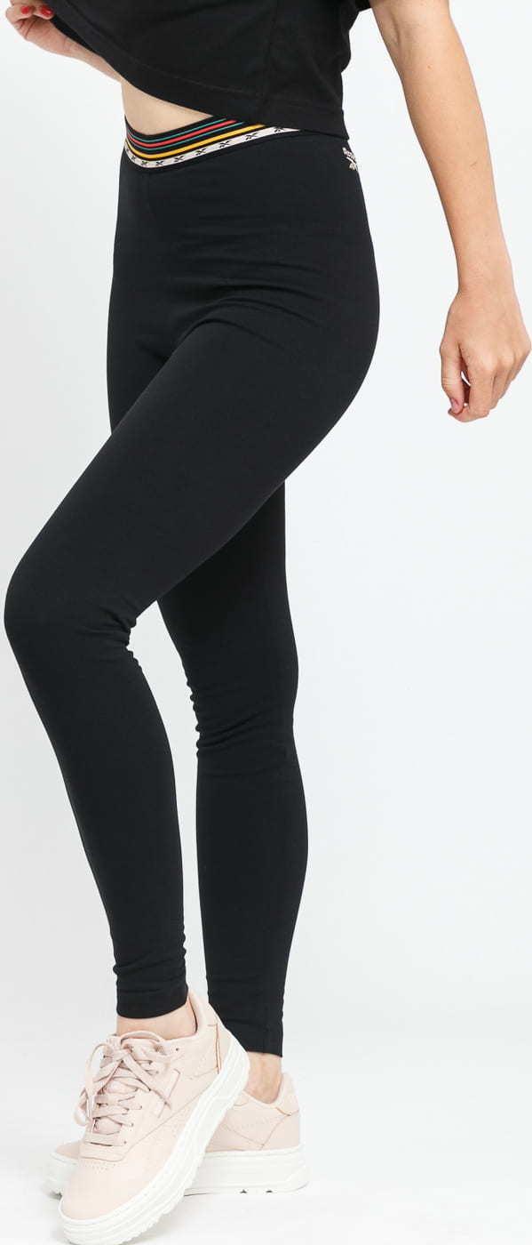 Reebok CL Camp HR Legging černé