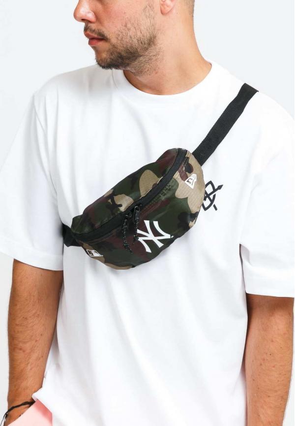 New Era Mini Waist Bag NY camo zelená