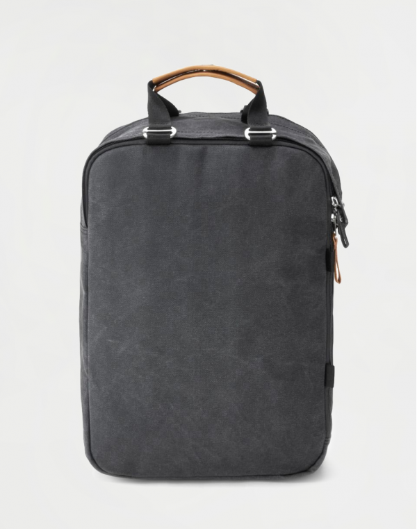 Qwstion Daypack Organic Washed Black