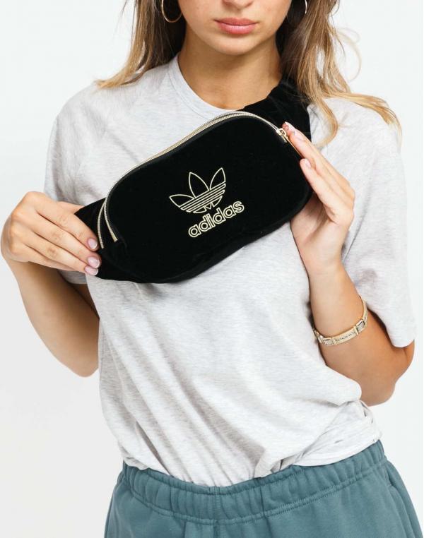 adidas Originals Waistbag Velvet černá