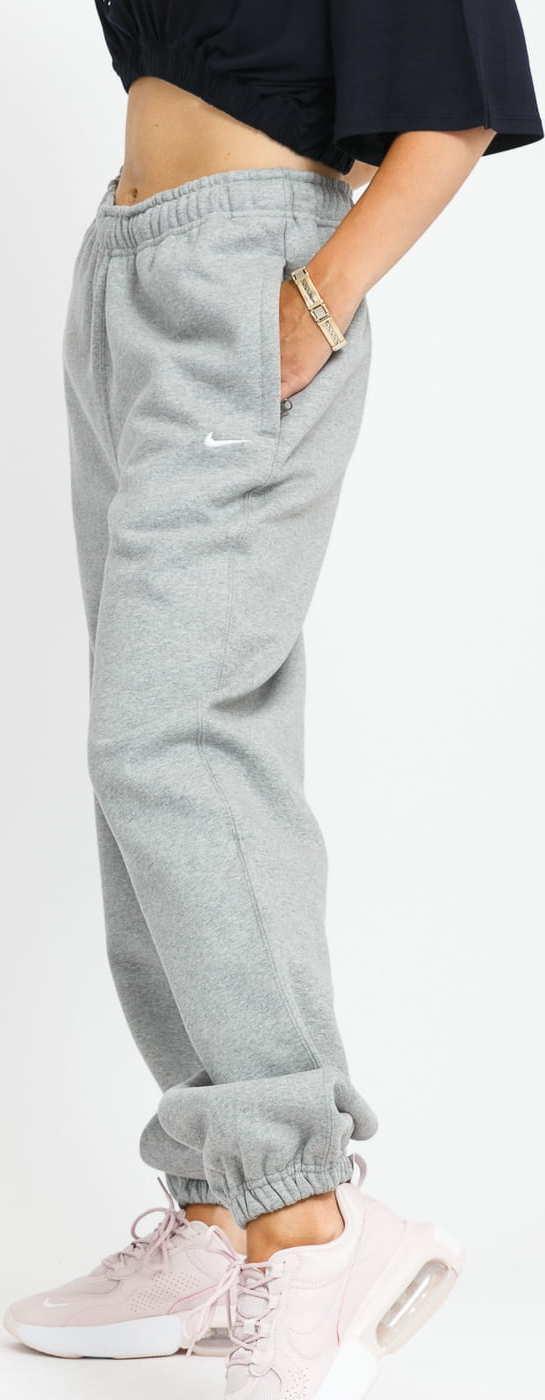 Nike W NRG Solo Swoosh Fleece Pant melange šedé