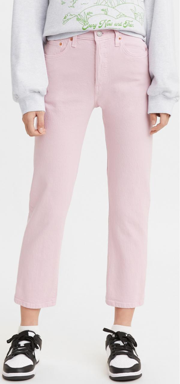 501 Crop Dark Lilac Jeans Levi