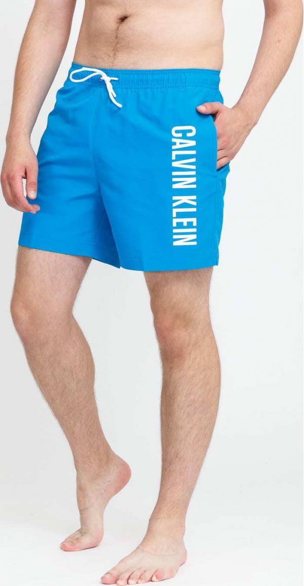 Calvin Klein Medium Drawstring modré