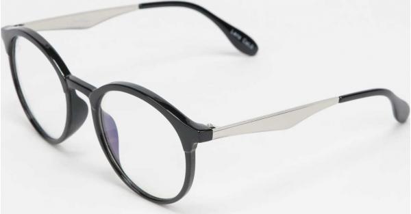 Jeepers Peepers Sunglasses černé / průhledné