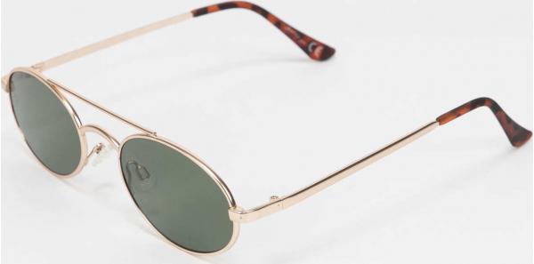Jeepers Peepers Sunglasses zlaté / zelené