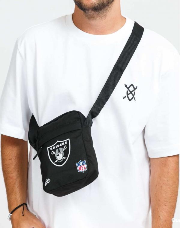 New Era NFL Side Bag Raiders černá