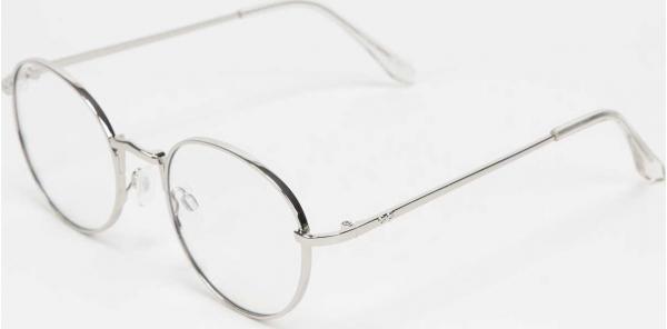 Jeepers Peepers Sunglasses stříbrné / průhledné