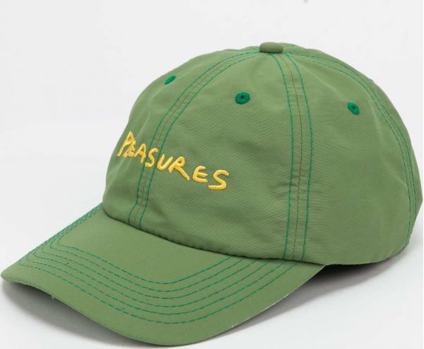 PLEASURES Hump Nylon Sport Cap zelená
