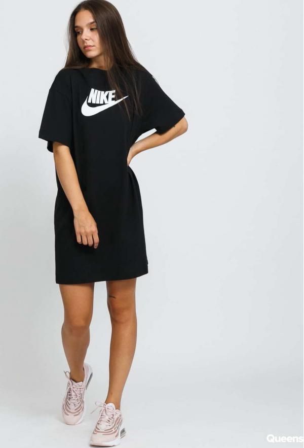 Nike W NSW Essential Dress Futura černé