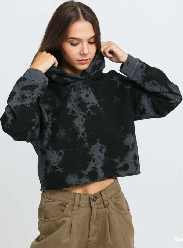 Urban Classics Ladies Oversized Short Bleached Hoody