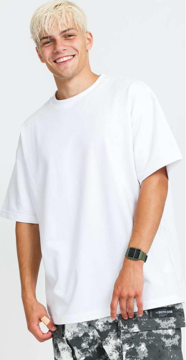 Bryland Company Logos Heavyweight T-shirt bílé