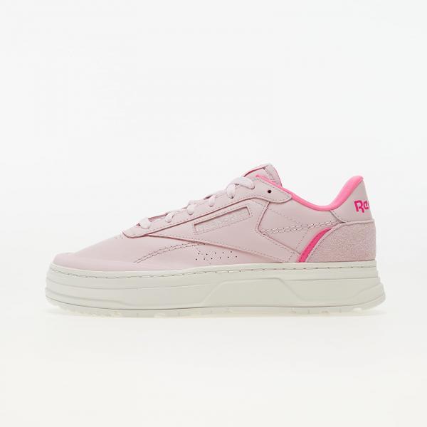 Reebok Club C Double Geo Frozen Berry/ Chalk/ Atom Pink