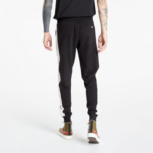 Tommy Jeans TJM Rib Insert Sweatpant Black/ Smooth Stone