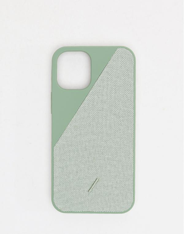 Native Union Clic Canvas - iPhone 12 Mini Sage