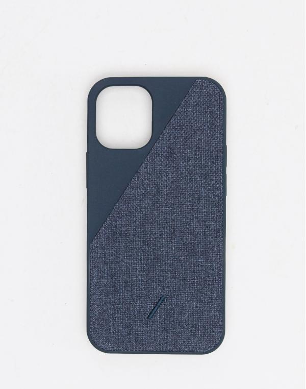 Native Union Clic Canvas - iPhone 12 Mini Indigo
