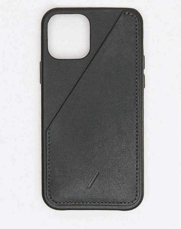 Native Union Clic Card - iPhone 12 Pro Max Black