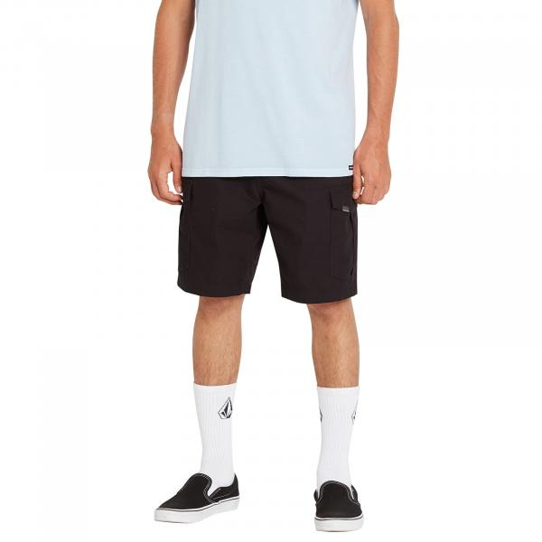 Volcom Miter III Cargo Shorts 20 Black