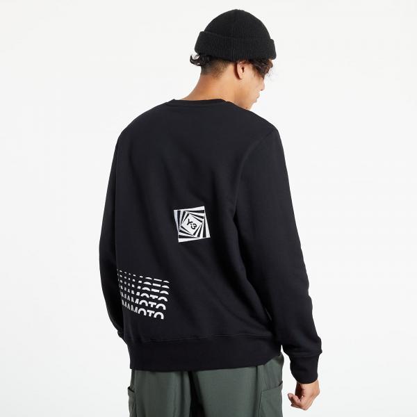 Y-3 M Ch1 GFX Crew Sweatshirt Black