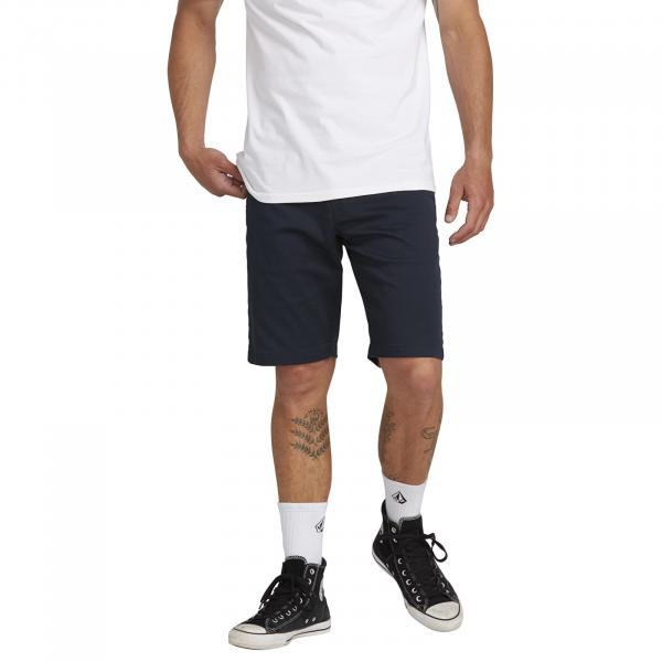 Volcom Frckn Mdn Stretch Shorts Dark Navy