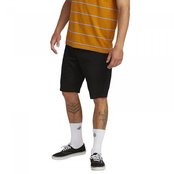 Volcom Frckn Mdn Stretch Shorts Black