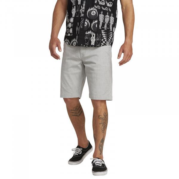 Volcom Frckn Mdn Stretch Shorts Grey