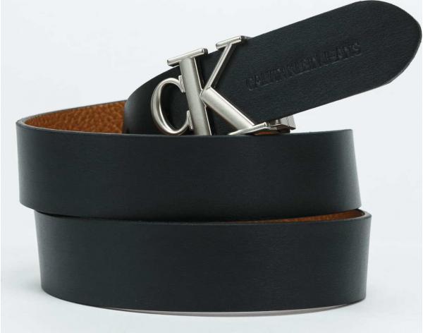 CALVIN KLEIN JEANS Mono Hardware Round hnědý / černý 100 cm