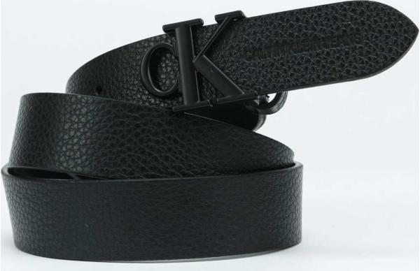 CALVIN KLEIN JEANS Mono Hardware Round černý 100 cm