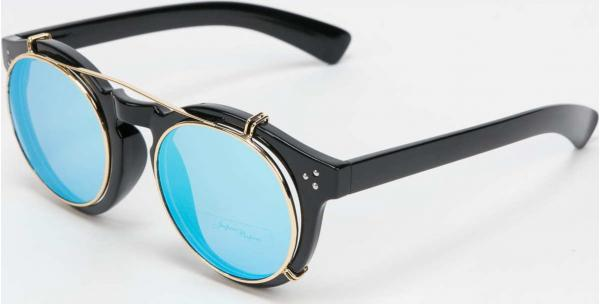 Jeepers Peepers Sunglasses černé / zlaté / modré