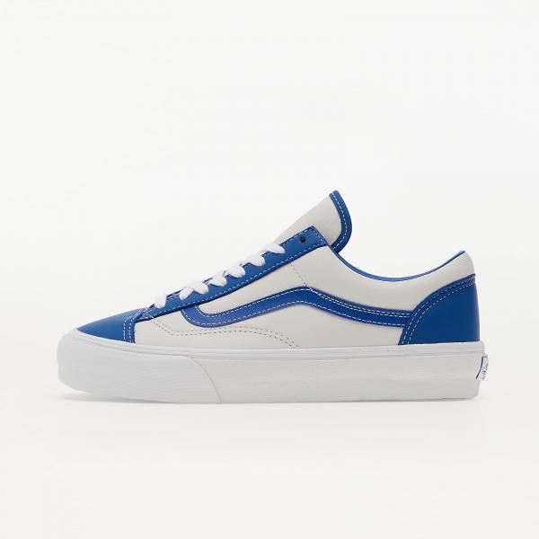 Vans Vault Style 36 LX (Leather) Nautical Blue/ True White
