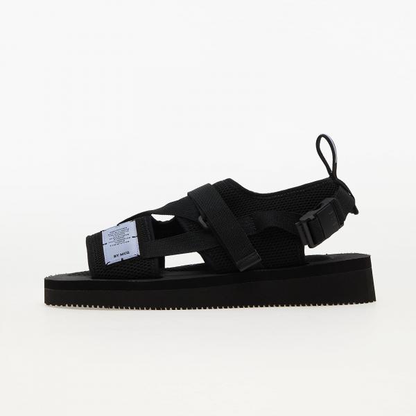 McQ Br7 Criss Cross Sandal Black