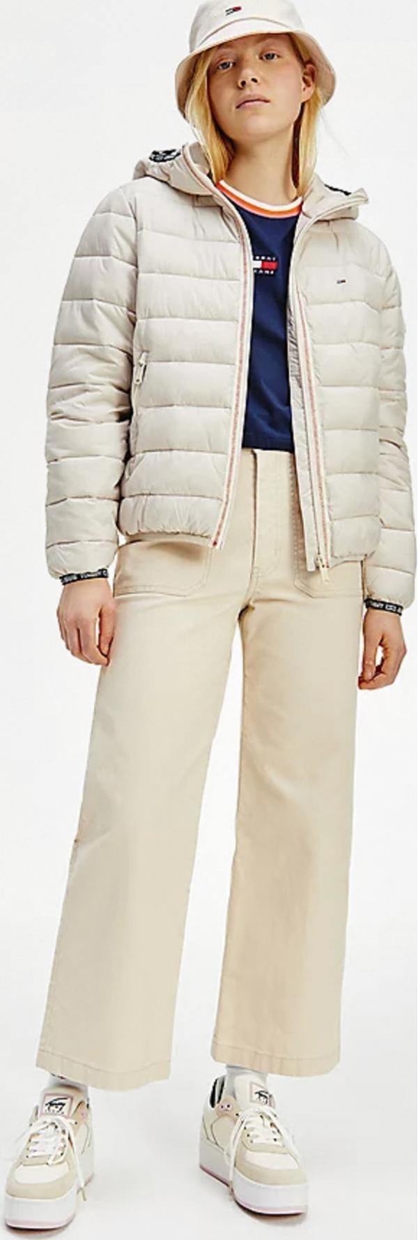 Quilted Tape Hooded Bunda Tommy Jeans
