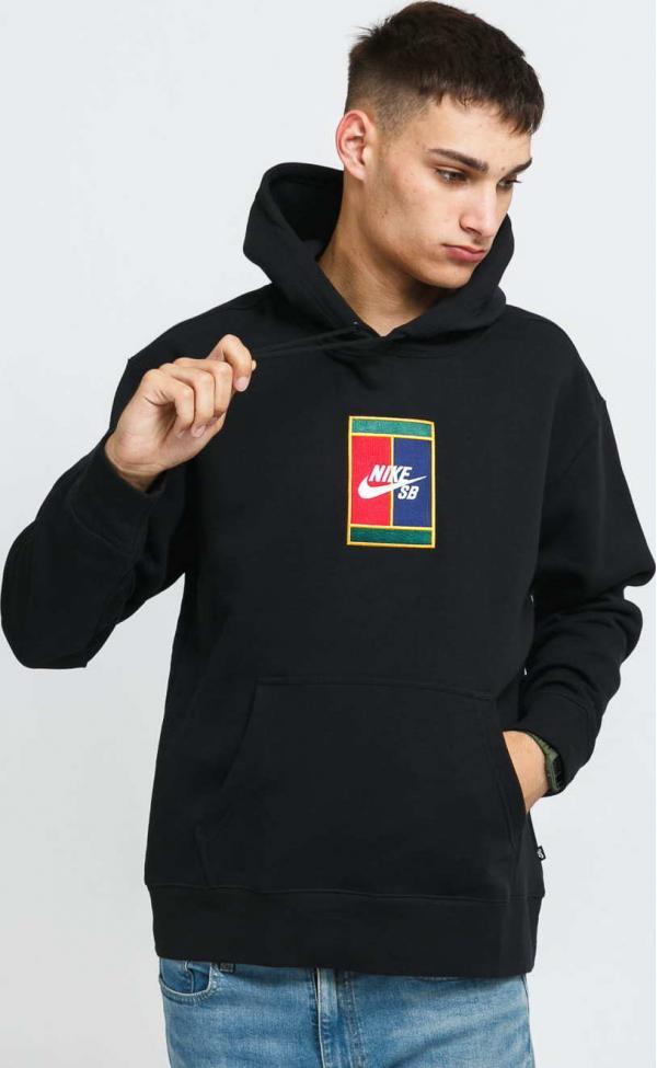 Nike M NK SB GFX Hoodie - 1 černá