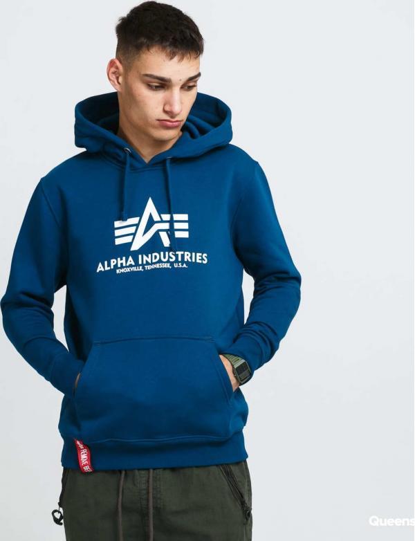 Alpha Industries Basic Hoody navy