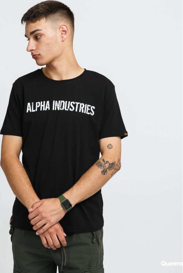 Alpha Industries RBF Moto Tee černé