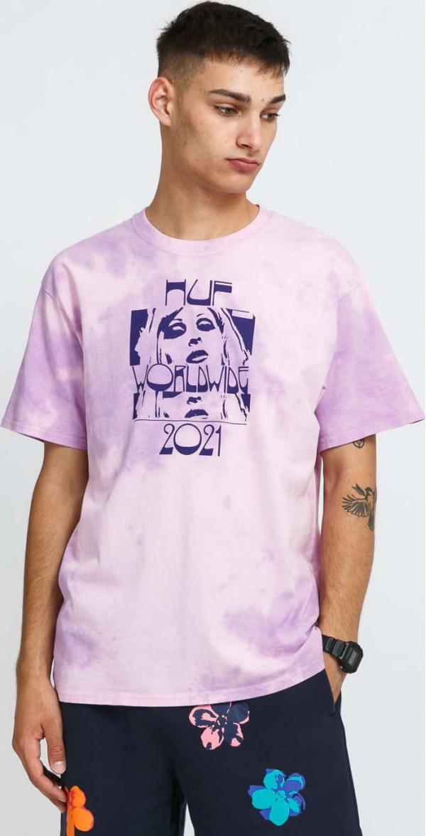 HUF Wasted Darling T-Shirt růžové / fialové