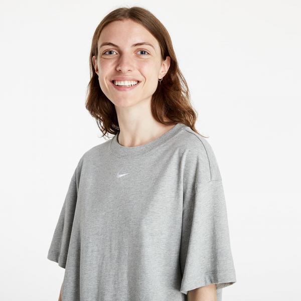 Nike W NSW Essentials SS Dress Grey Heather/ White