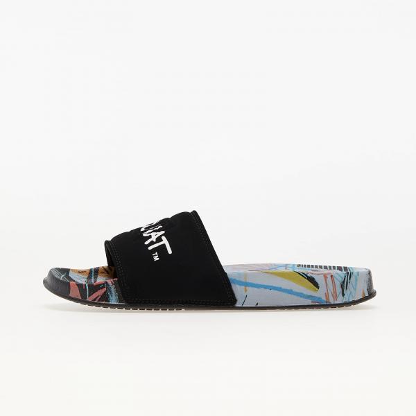 DC x Jean-Michael Basquiat Slide Black/ Multi