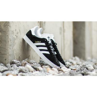 adidas Gazelle Core Black/ White/ Gold Metalic