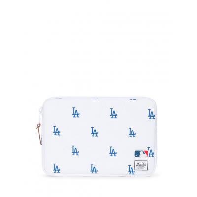 Herschel Supply Major League Baseball® x Anchor Sleeve for 11 inch MacBook White/Blue Dodgers