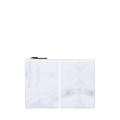 Herschel Supply Network Large White Marble/Cobalt