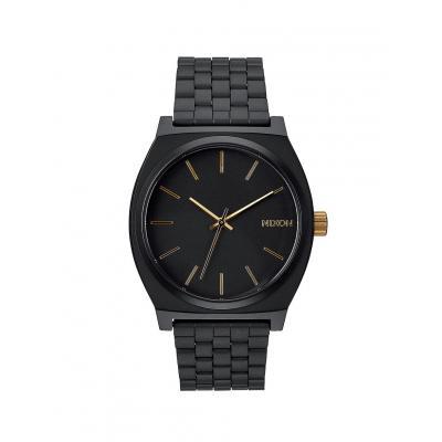 Nixon Time Teller Matte Black/ Gold