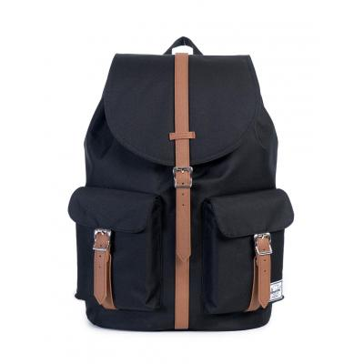 Herschel Supply Dawson Black/Tan Synthetic Leather