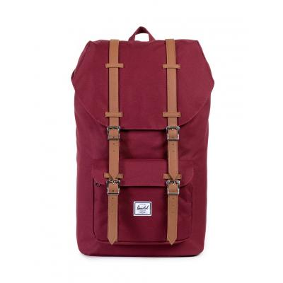 Herschel Supply Little America Windsor Wine/Tan Synthetic Leather