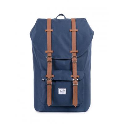 Herschel Supply Little America Navy/Tan Synthetic Leather