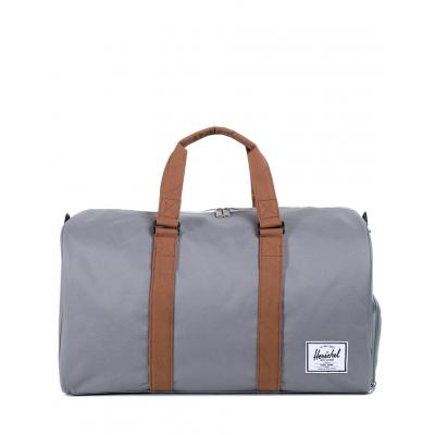Herschel Supply Novel Grey/Tan Synthetic Leather