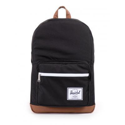 Herschel Supply Pop Quiz Black/Tan Synthetic Leather