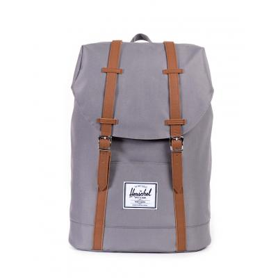 Herschel Supply Retreat Grey/Tan Synthetic Leather