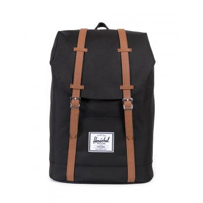 Herschel Supply Retreat Black/Tan Synthetic Leather