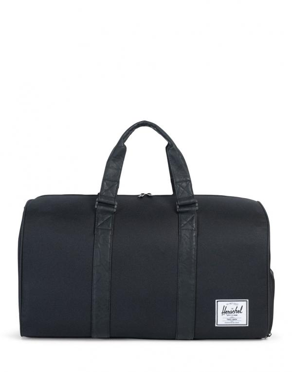 Herschel Supply Novel Black/Black Synthetic Leather