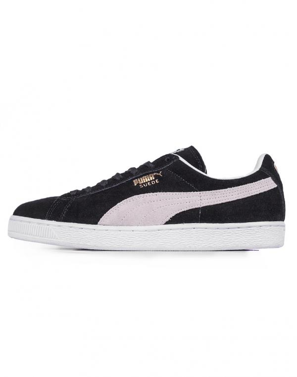 Puma Suede Classic+ Black- White 41